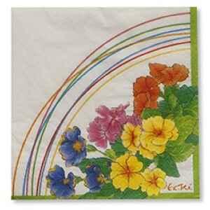 Tovaglioli Primule 33 x 33 cm 3 confezioni Extra