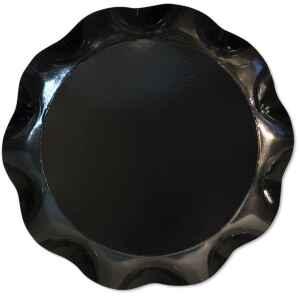 Vassoio Tondo Nero 40 cm 1 Pz Extra