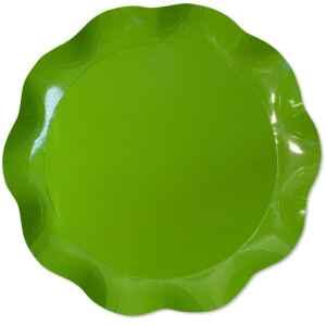 Vassoio Tondo Verde Prato 40 cm 1 Pz Extra