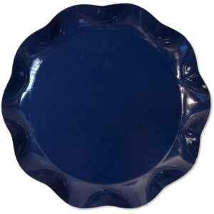 Vassoio Tondo Blu notte 40 cm 1 Pz Extra