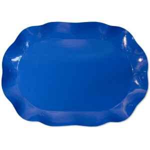 Vassoio Rettangolare Blu cobalto 46 x 31 cm 1 Pz Extra