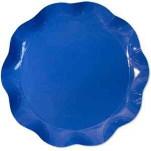 Vassoio Tondo Blu Cobalto 40 cm 1 Pz Extra