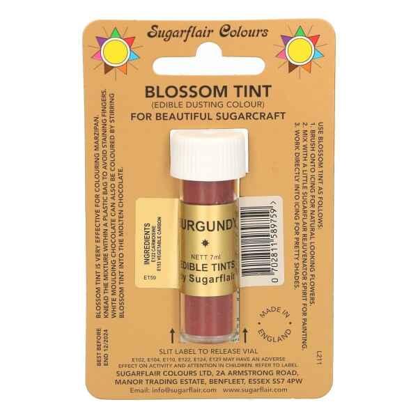 Dusting Color BORDEAUX 7 ml Sugarflair