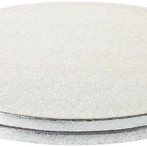 Sottotorta - Vassoio Rigido Tondo Argento H 1,2 cm Diametro 20 cm