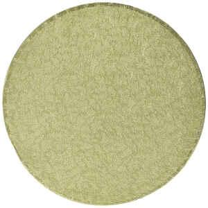 Sottotorta - Vassoio Rigido Tondo Oro H 1,2 cm Diametro 36 cm