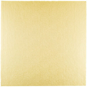 Sottotorta - Vassoio Rigido Quadrato Oro H 1,2 cm 25 x 25 cm