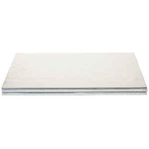 Sottotorta - Vassoio Rigido Rettangolare Argento H 1,2 cm 50 x 70 cm