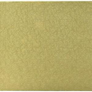 Sottotorta - Vassoio Rigido Rettangolare Oro H 1,2 cm 40 x 60 cm