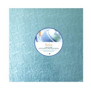 Sottotorta - Vassoio Rigido Quadrato Azzurro H 1,2 cm 25 x 25 cm