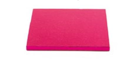 Sottotorta - Vassoio Rigido Quadrato Fucsia H 1,2 cm 40 x 40 cm