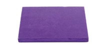 Sottotorta - Vassoio Rigido Quadrato Viola H 1,2 cm 40 x 40 cm