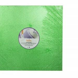 Sottotorta - Vassoio Rigido Quadrato Verde H 1,2 cm 30 x 30 cm