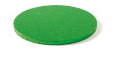 Sottotorta - Vassoio Rigido Tondo Verde H 1,2 cm Diametro 40 cm