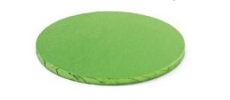 Sottotorta - Vassoio Rigido Tondo Verde Chiaro H 1,2 cm Diametro 40 cm