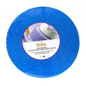 Sottotorta - Vassoio Rigido Tondo Blu H 1,2 cm Diametro 30 cm