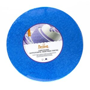 Sottotorta - Vassoio Rigido Tondo Blu H 1,2 cm Diametro 35 cm