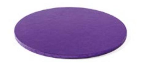 Sottotorta - Vassoio Rigido Tondo Viola H 1,2 cm Diametro 25 cm
