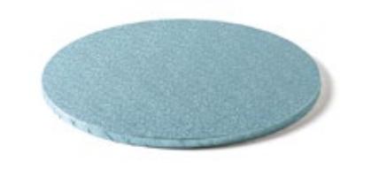 Sottotorta - Vassoio Rigido Tondo Azzurro H 1,2 cm Diametro 35 cm