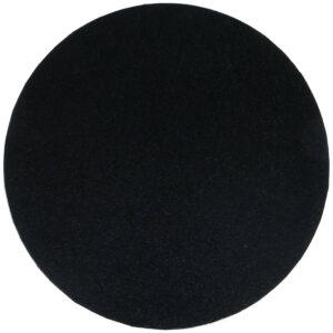 Sottotorta - Vassoio Rigido Tondo Nero H 1,2 cm Diametro 50 cm