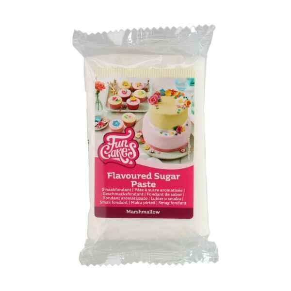 Pasta di Zucchero Fondant Aromatizzato Marshmallow Senza Glutine FunCakes