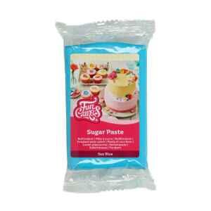 Pasta di Zucchero Fondant Mare Blu 250 g Senza Glutine FunCakes