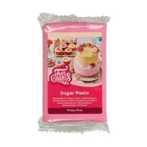 Pasta di Zucchero Fondant Rosa Pretty Pink 250 g Senza Glutine FunCakes