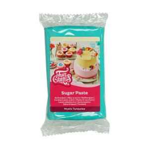 Pasta di Zucchero Fondant Turchese Mystic 250 g Senza Glutine FunCakes