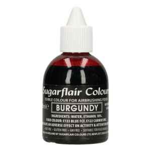 Colorante per Aerografo BORDEAUX 60 ml Sugarflair