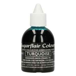 Colorante per Aerografo TURCHESE 60 ml Sugarflair