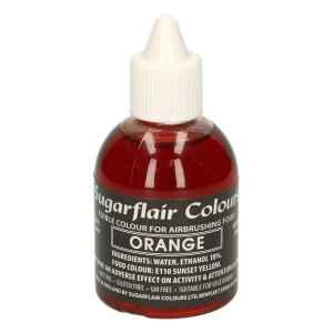 Colorante per Aerografo ARANCIONE 60 ml Sugarflair