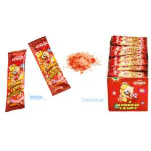 Espositore con 200 bustine popping candy