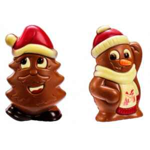 Albero Martin & Pupazzo Adam Cioccolato da 75 g.